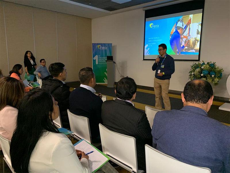 Fenix realiza Primer Encuentro Anual de Proveedores