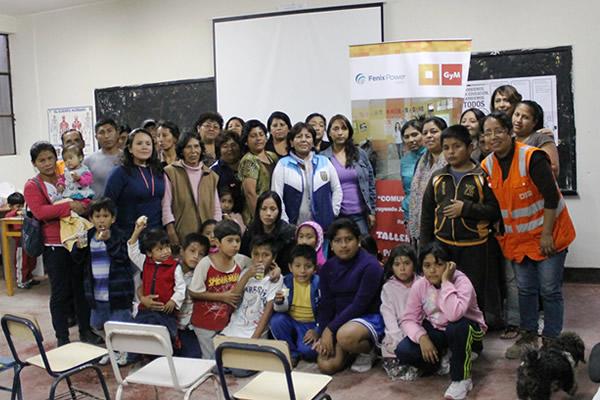 Fenix Power junto a GyM: Escuela de Padres