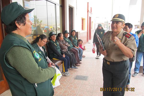 Primer Simulacro de la Junta Vecinal de Seguridad de Las Salinas