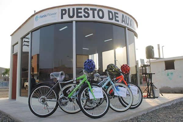 Fenix Inaugura Puesto de Auxilio Rápido en Las Salinas – Chilca