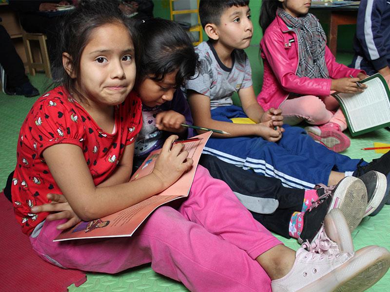 Fenix y su valioso aporte al aprendizaje de niños y niñas de Chilca