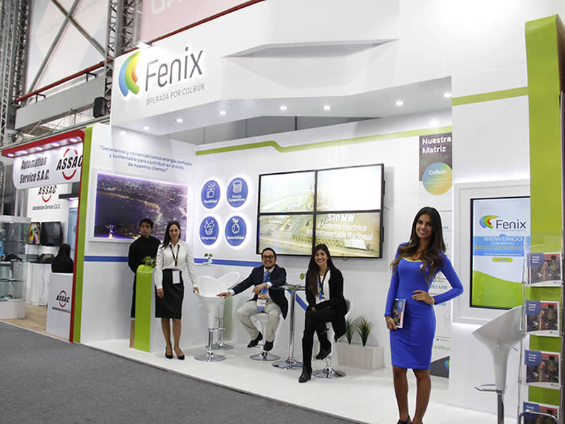 Fenix debutó en Expomina 2018