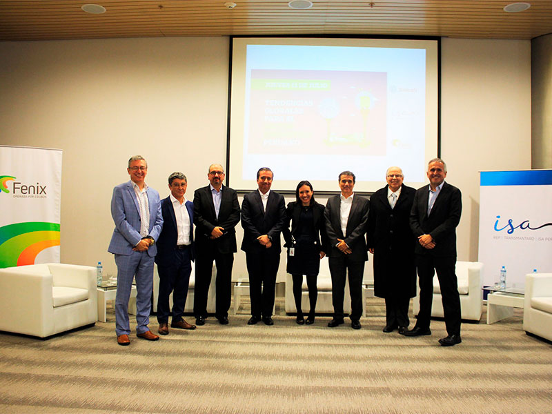 Fenix, Statkraft e ISA REP realizan evento sobre nuevas tendencias en el sector eléctrico