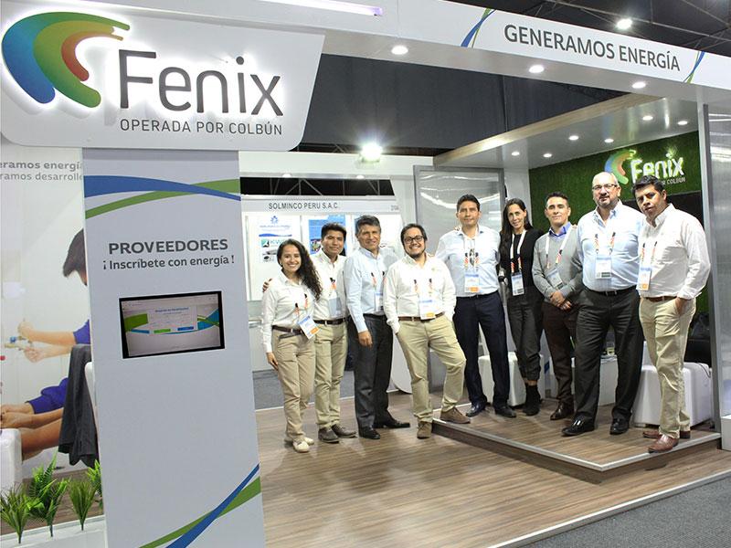 Fenix estuvo presente en PERUMIN 34