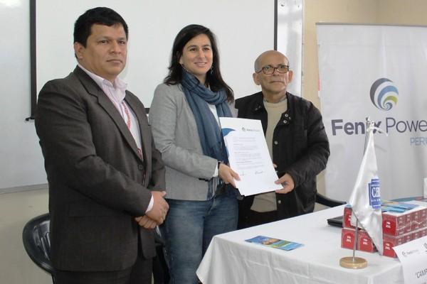 Anemia Cero, Fenix Power en alianza con la Red de Salud Chilca-Mala