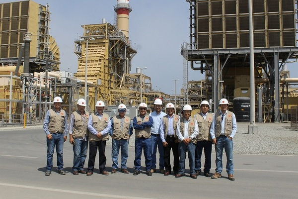 Colegio de Ingenieros del Perú (CIP) visitó la Central Termoeléctrica de Fenix Power