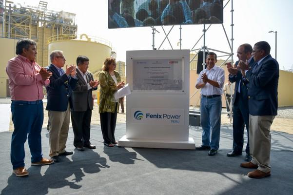 Fenix Power inauguró su Central Termoeléctrica