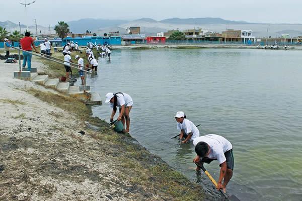 Lagunas limpias, más turismo