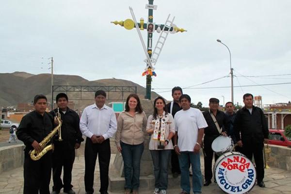 Fenix Power participa de la fiesta de la Santísima Cruz en Chilca