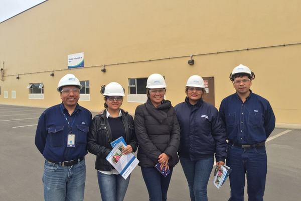 Miembros de Sedapal visitaron la Central Térmica de Fenix Power