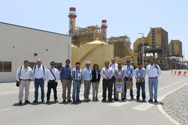 Cámara de Comercio Peruano – Chilena visita la Central Termoeléctrica de Fenix Power