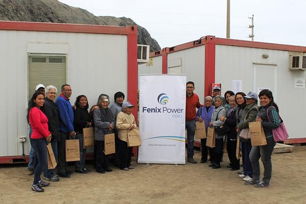 Programa de Visitas Guiadas a la planta de Fenix Power