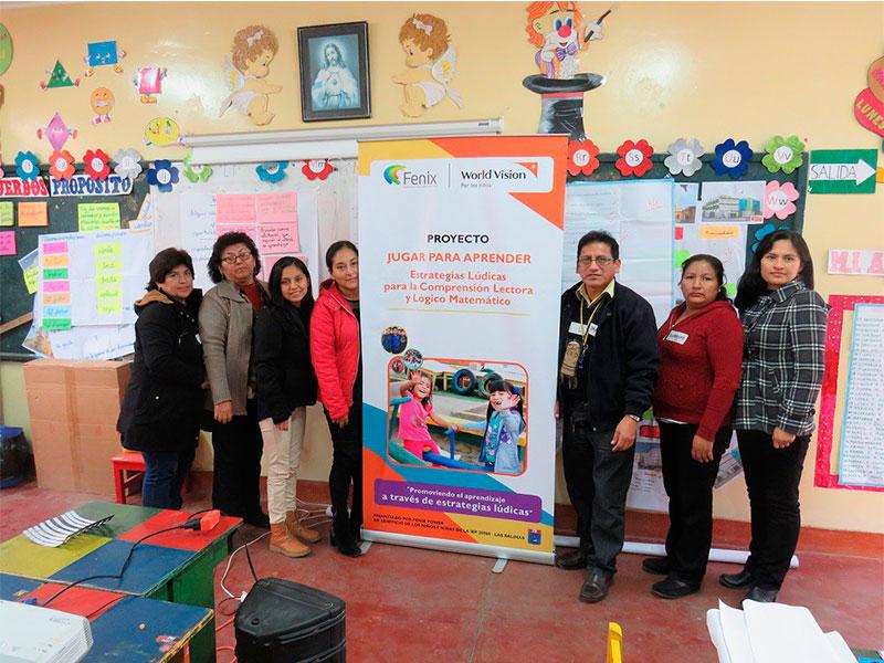 Fenix y World Vision Perú promueven educación lúdica en Chilca