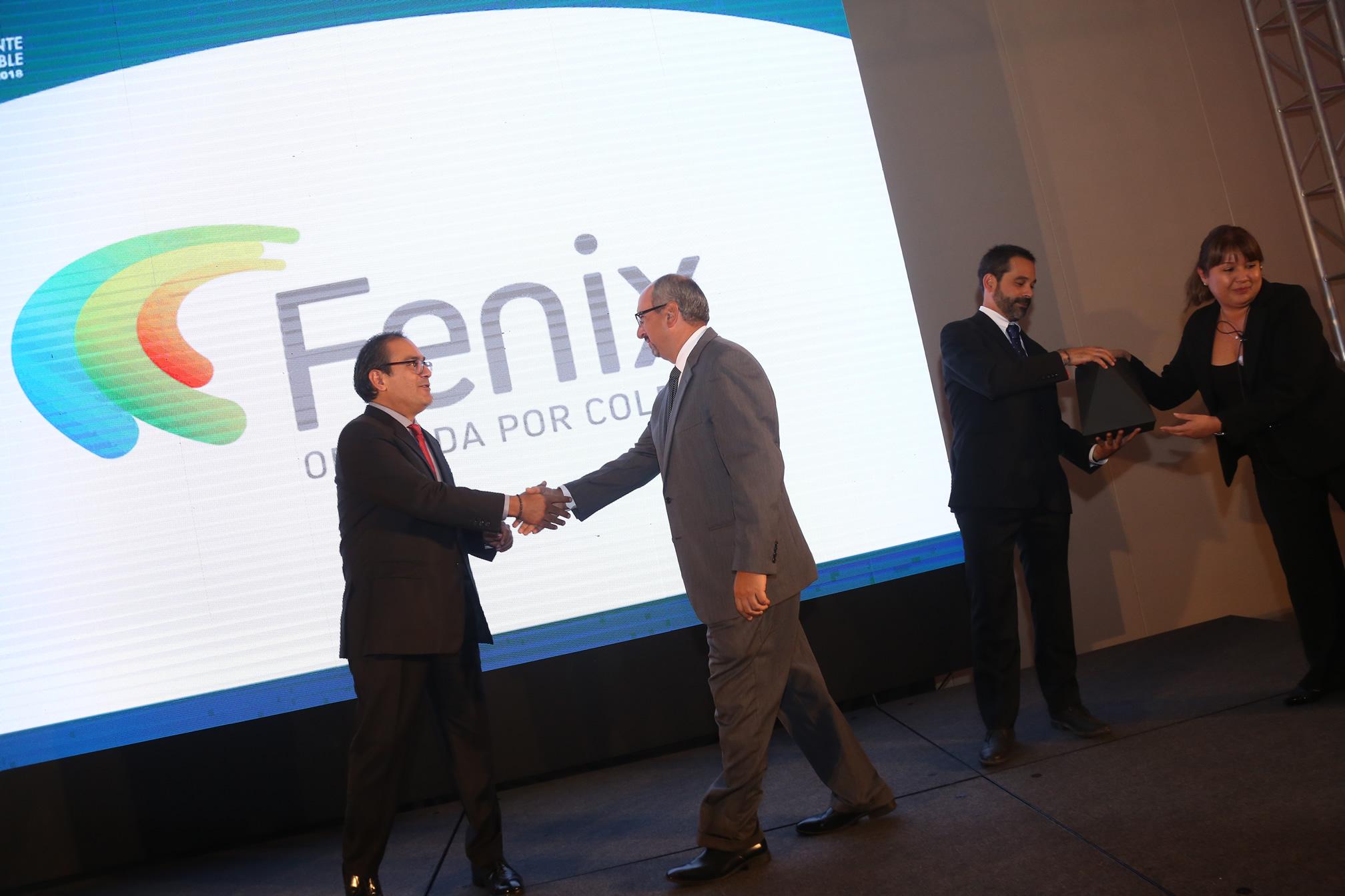 Fenix Recibe Distintivo ESR 2017-2018