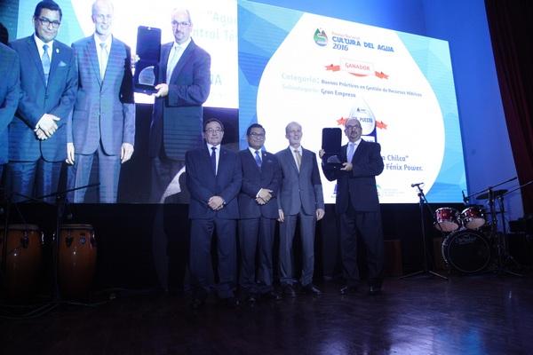 Autoridad Nacional del Agua premia a Fenix Power Perú por buena gestión de recursos hídricos