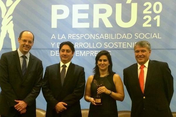 """Proyecto """"Agua para Chilca"""" recibió premio Perú 2021"""
