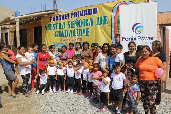 """Apoyo en infraestructura y mobiliario para PRONOEI """"Nuestra Señora de Guadalupe"""""""