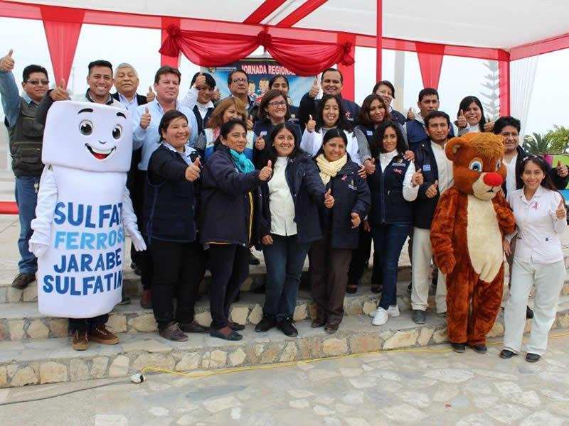 """Fenix es reconocida como """"Embajador en la Lucha contra la Anemia"""""""