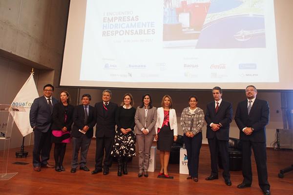 Fenix Participa de Encuentro de Empresas Hídricamente Responsables  14 de Junio