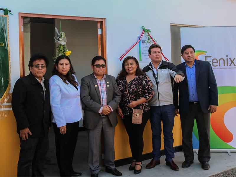 Fenix y Microred de salud Chilca inauguraron módulos de atención médica