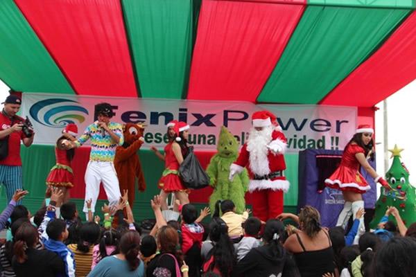 """Alegría y confraternidad en la """"Navidad Feliz en Las Salinas"""""""