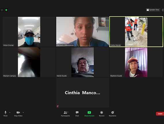 Fenix reinicia su Programa de Monitoreo Socio Ambiental Participativo de manera virtual