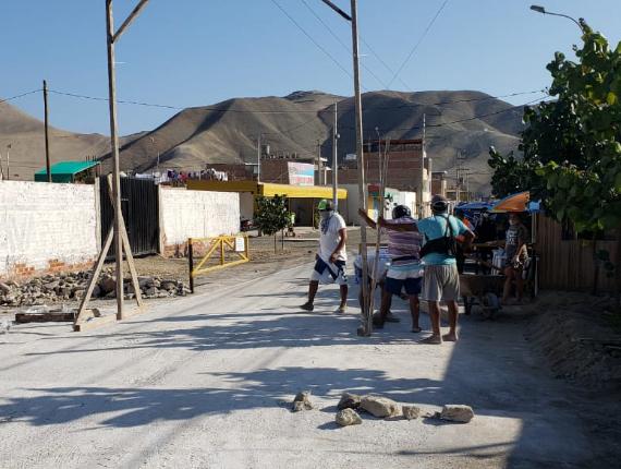 Fenix se suma a iniciativas locales de desinfección