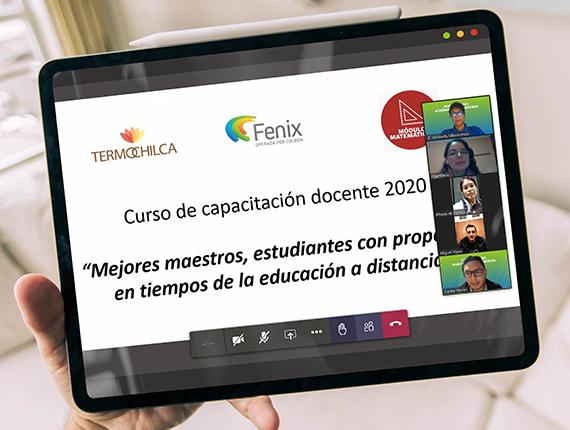 Fenix inaugura Programa de Capacitación Docente sobre educación a distancia