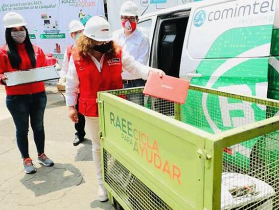 """Fenix se suma a campaña """"RAEEcicla para Ayudar"""" de Aniquem"""
