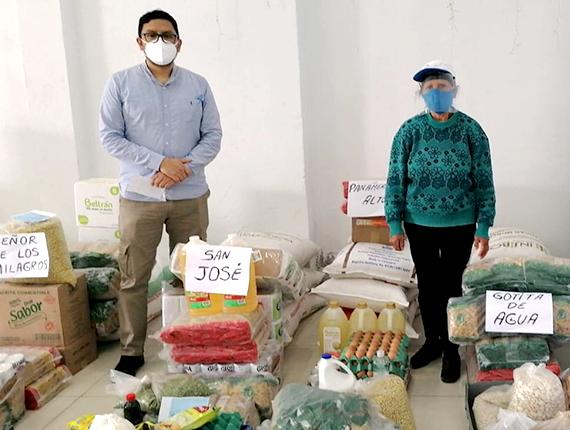 Una vez más, Fenix reconoce el esfuerzo de los comedores populares de Chilca