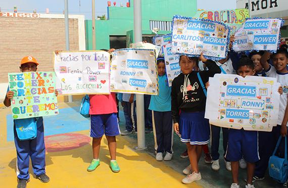 """Proyecto """"Jugar para Aprender"""" en colegio Las Salinas se adapta a la educación a distancia"""