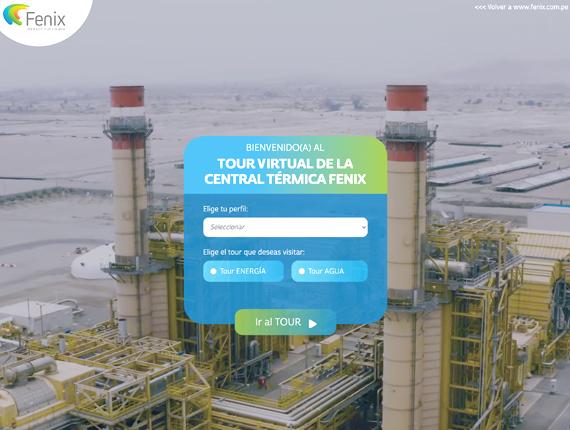 Fenix lanza tour virtual 360° de planta de generación eléctrica