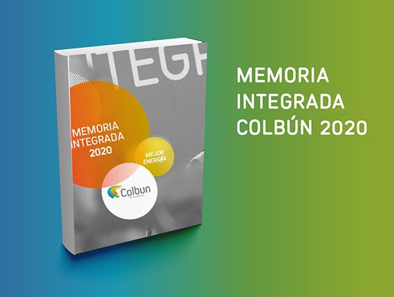 Colbún pública Memoria Integrada 2020 y suma principios del World Economic Forum