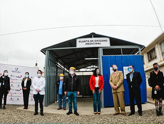 Chilca inaugura su primera Planta de Oxígeno