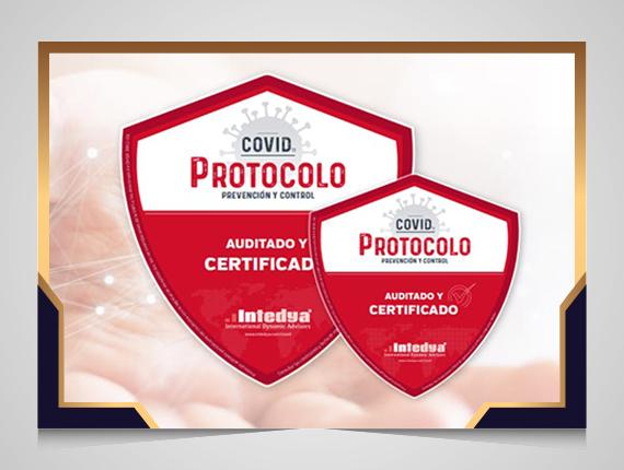 Fenix obtiene el Certificado de Protocolo COVID de INTEDYA